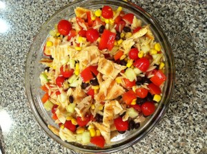 Recipe: Southwest Chicken Orzo Salad