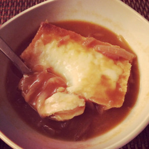 Recipe: Lighter Slow Cooker French Onion Soup