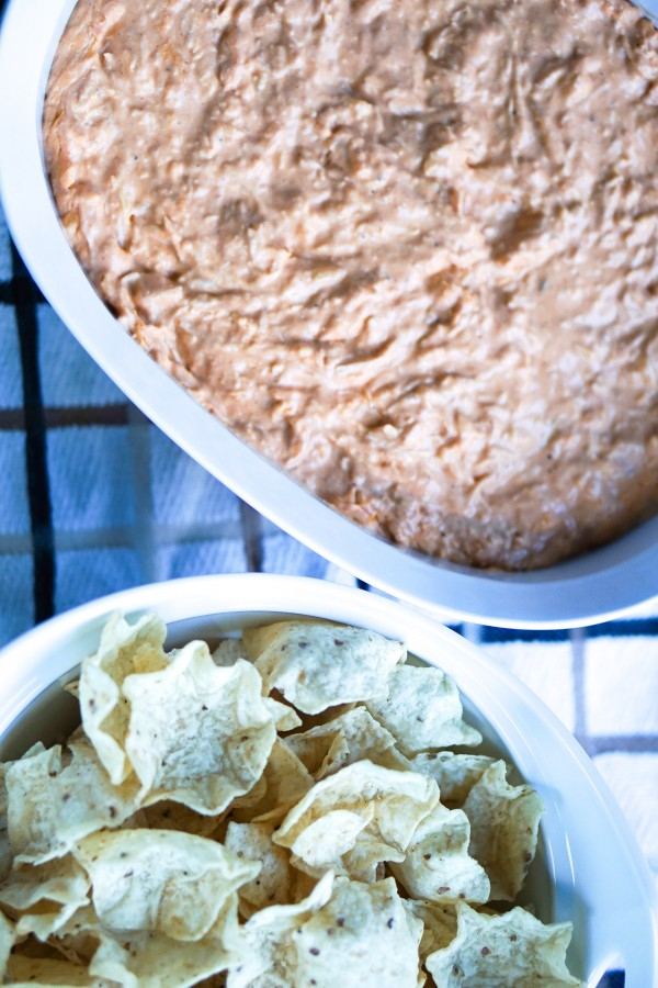 Light Buffalo Chicken Dip Recipe