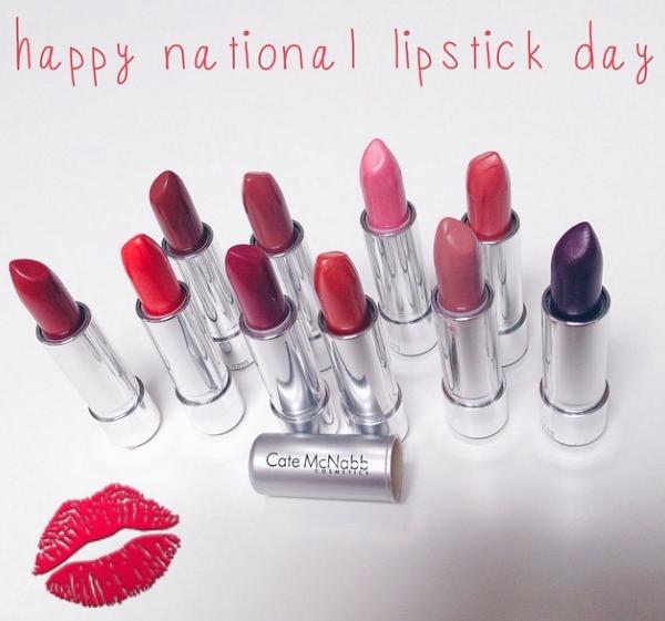 Cate McNabb Lipstick Day