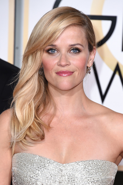 Reese Witherspoon at the 72nd Annual Golden Globe Awards - Makeup Look at DailyKaty.com