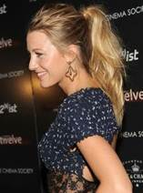 Get the Look: Blake Lively's Ponytail http://bit.ly/dailykaty