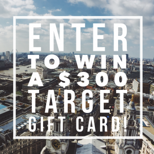 $300 Target Giveaway on DailyKaty.com