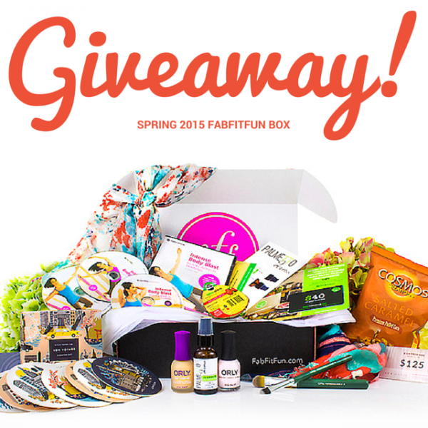 Spring 2015 FabFitFun VIP Box Review & Giveaway