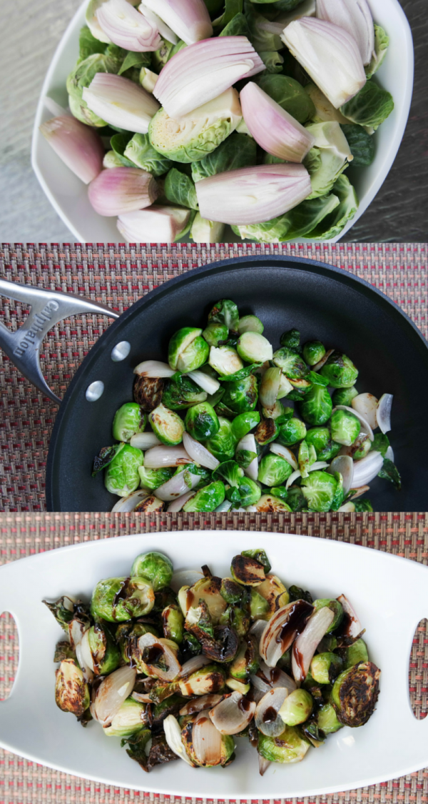 Balsamic Brussels Sprouts Recipe on DailyKaty.com