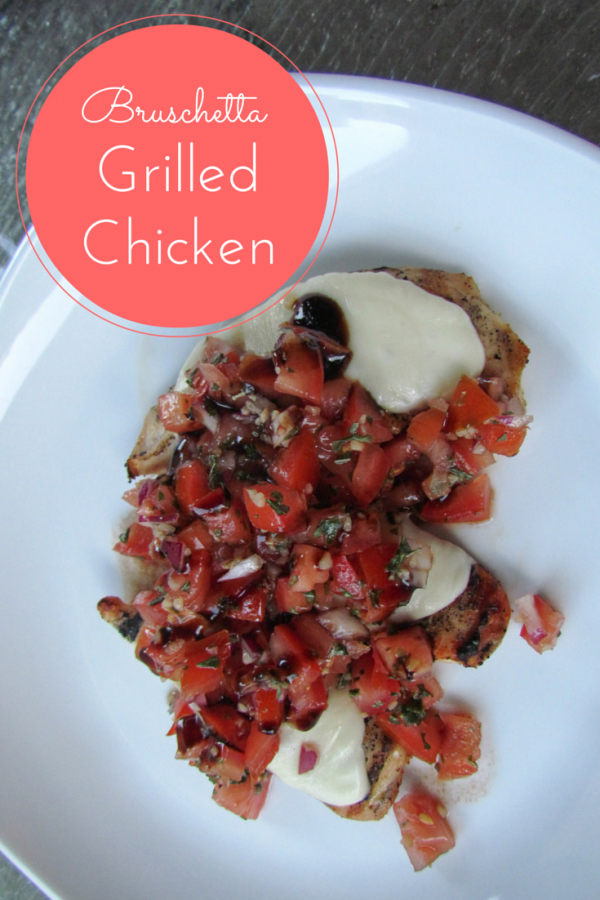 Bruschetta Grilled Chicken Recipe