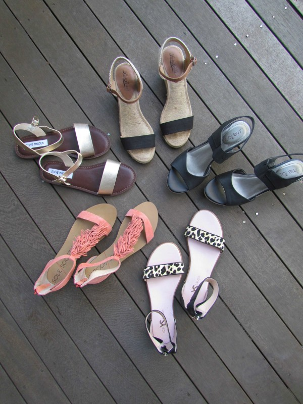 Summer Sandals - Sale Finds on DailyKaty.com