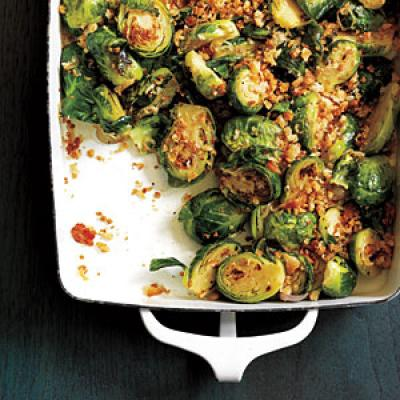 Thanksgiving Recipes: Brussels Sprouts Gratin