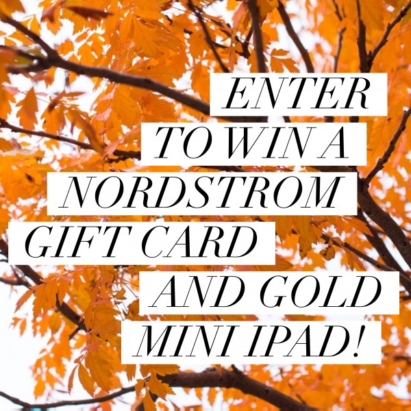 Nordstrom Giveaway - enter on DailyKaty.com