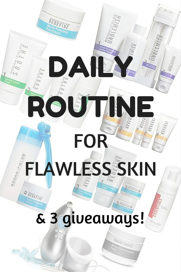 My Daily Routine for Flawless Skin, plus 3 Giveaways!