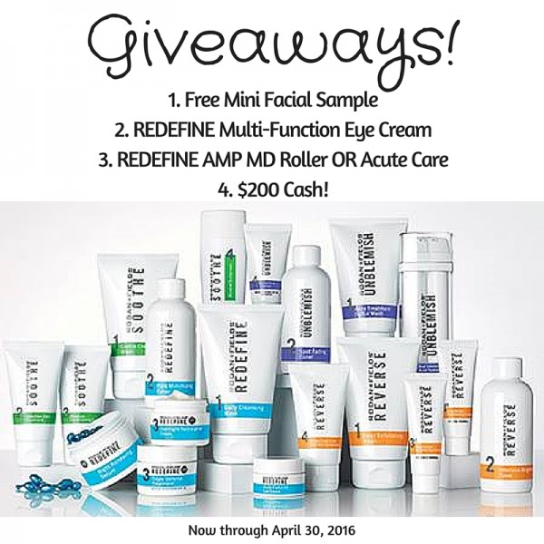 Rodan + Fields Giveaways on DailyKaty.com