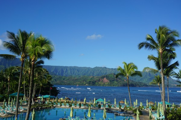 Travel Guide of Princeville, Kauai, Hawaii - Shown here: St. Regis Princeville