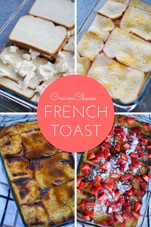 Cream Cheese French Toast Casserole Recipe