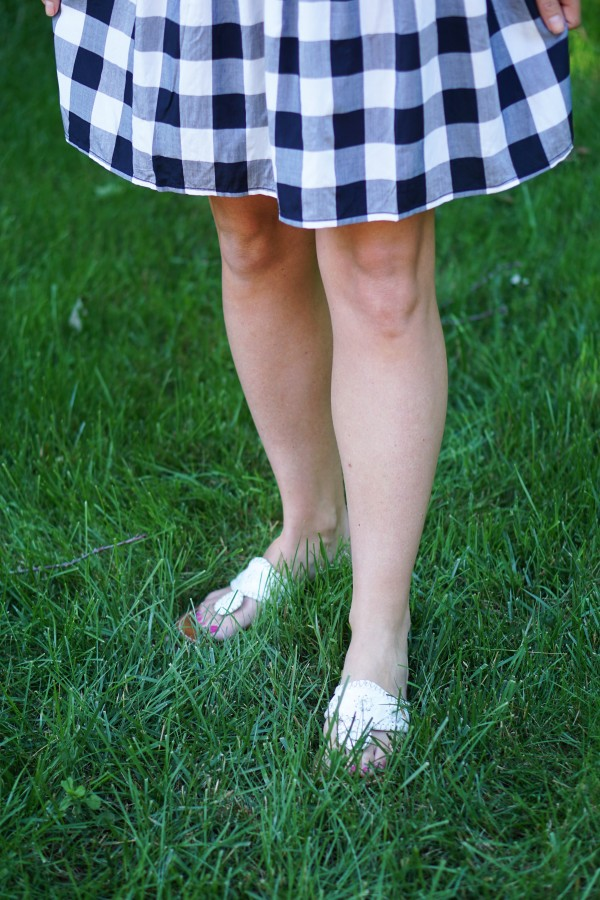 Gingham Dress on DailyKaty.com #loveloft