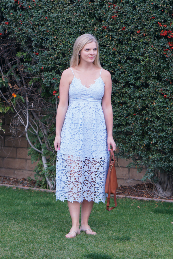 Favorite Lace Midi Dress (& Lots of Similar Styles!)