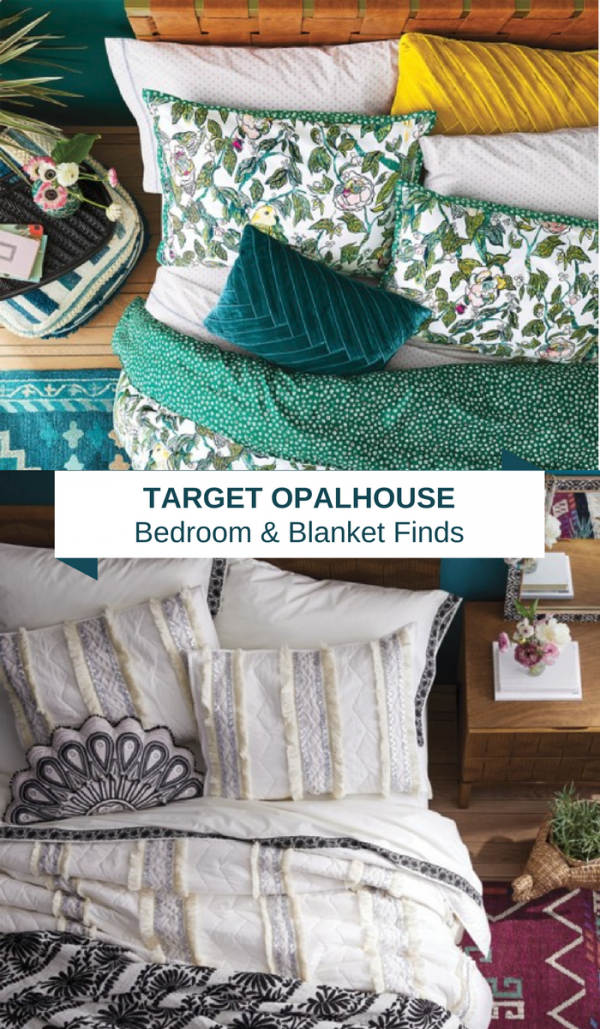 Target Opalhouse Bedroom Decor & Throw Blanket s