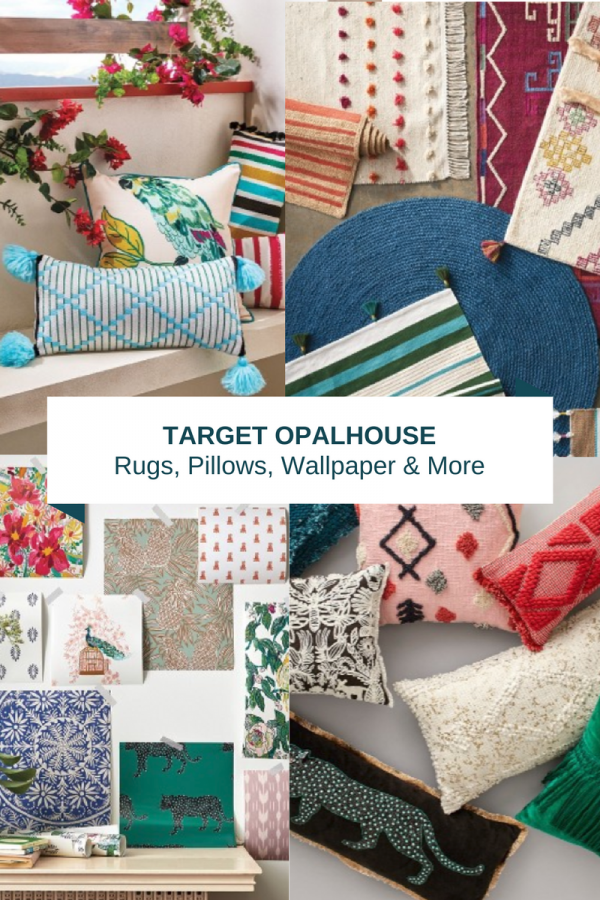 Target Opalhouse Rugs, Throw Pillows, Removable Wallpaper & More