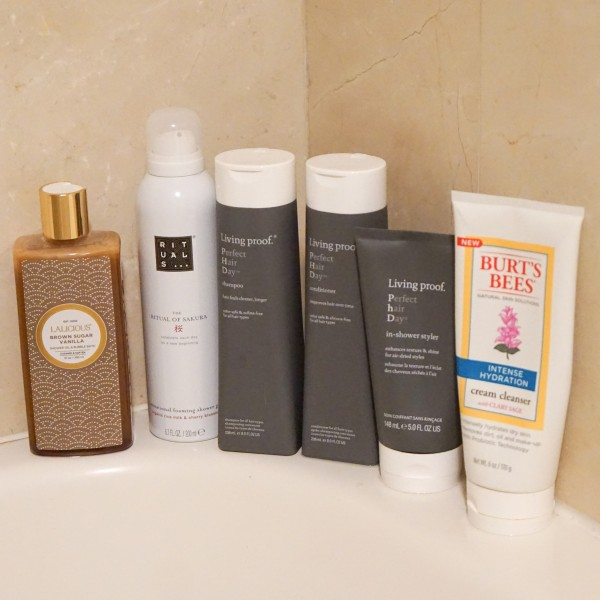 Shower Products - Living Proof, Burt's Bees