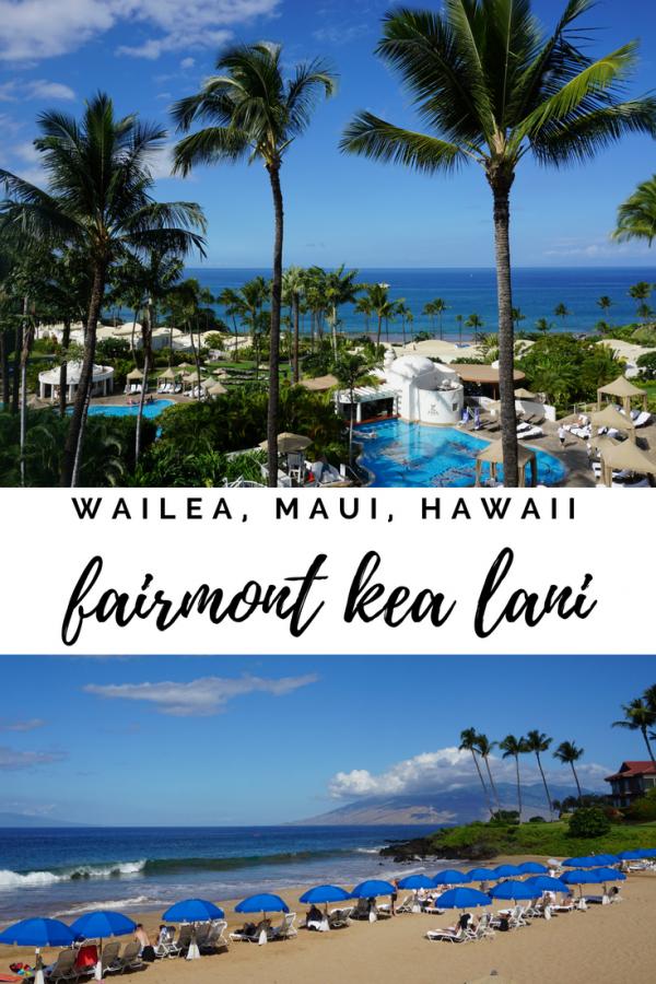 Fairmont Kea Lani, Maui, Hawaii