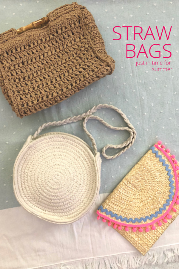 Straw Bags for Vacations, Spring & Summer