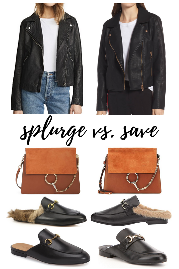 Splurge vs Save - Madewell, Chloe & Gucci