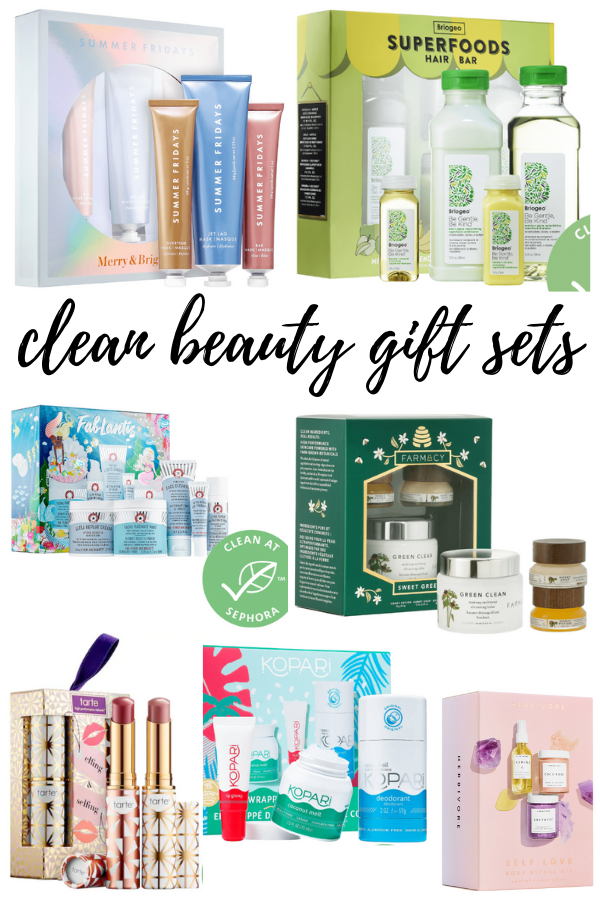 Clean Beauty Gift Sets Sephora
